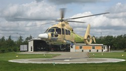 EC155 at Holsted22